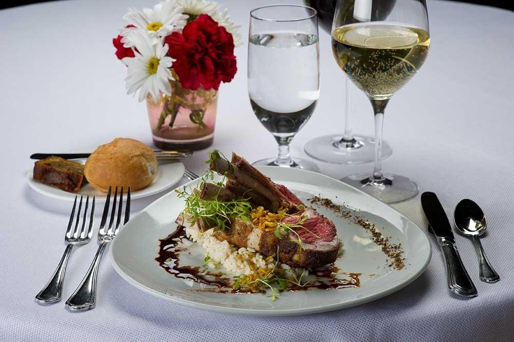 Braised Boneless Beef Short Rib on plate