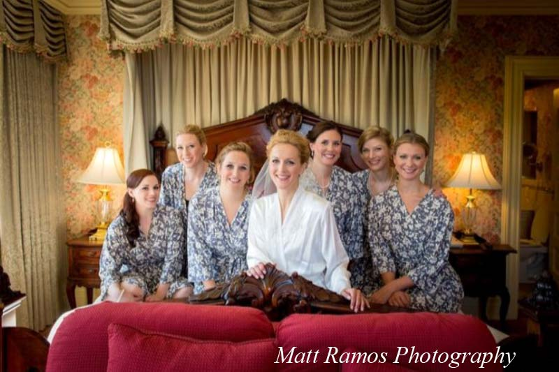 Group of Women on Bed